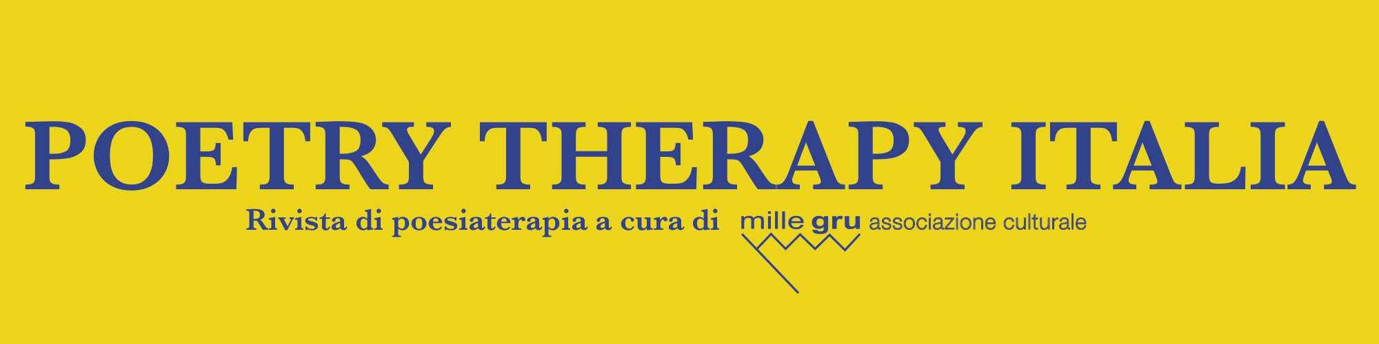 Poetry Therapy Italia header